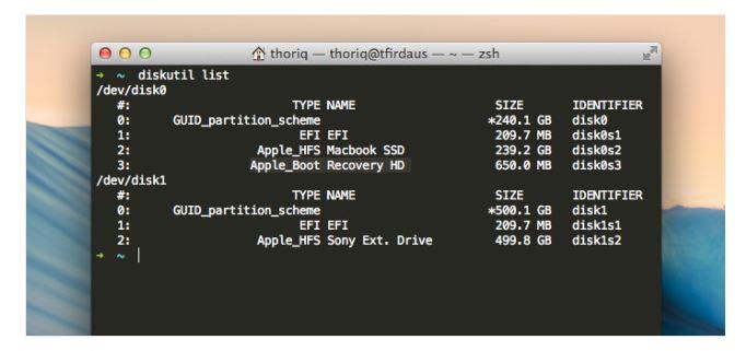 Créer une partition de récupération sur Mac - étape 5