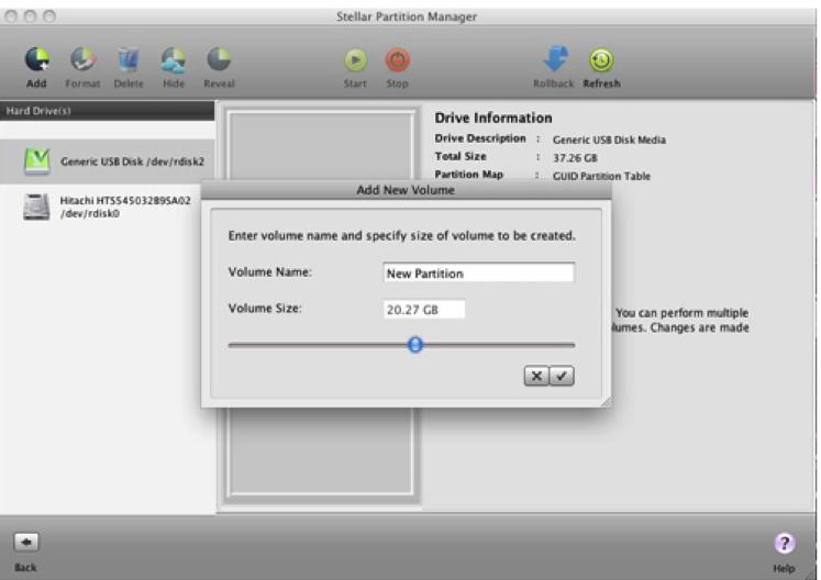 partition de Stellar Partition Manager étape 4