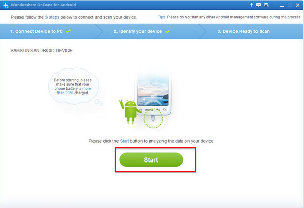 samsung mobile phone recover