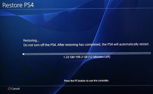sauvegarde du disque dur ps4