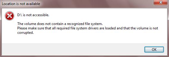 Récupérer les données de la partition RAW